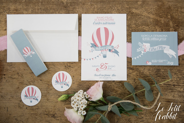 Hot Air Balloon Flower Wedding Suite