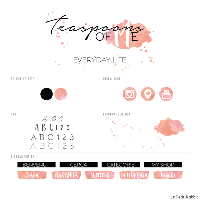 Logo e blog design: Teaspoons of me