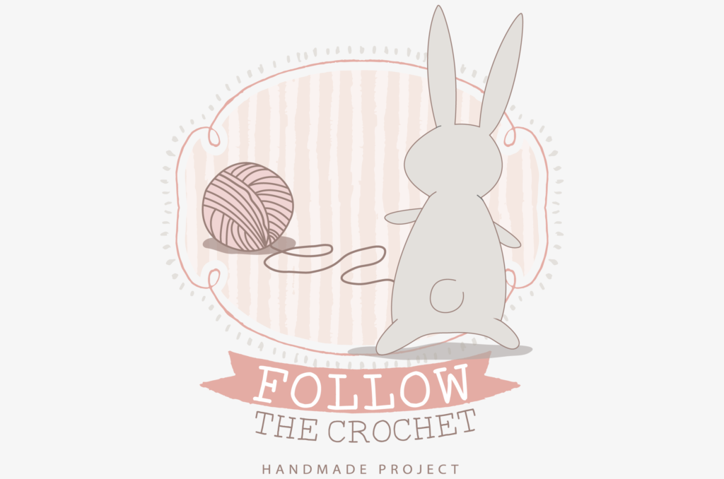 Logo design: Follow the crochet